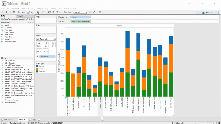 Connect Tableau to OBIEE Reports