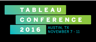 BI connector in Tableau Conference 2016 at Austin Texas