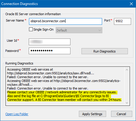 Connectivity-issues-with-OBIEE
