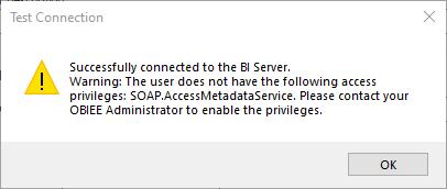 Require Access Privilege OBIEE
