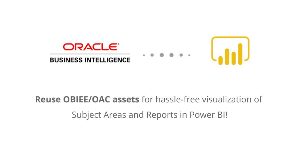Power BI to OBIEE