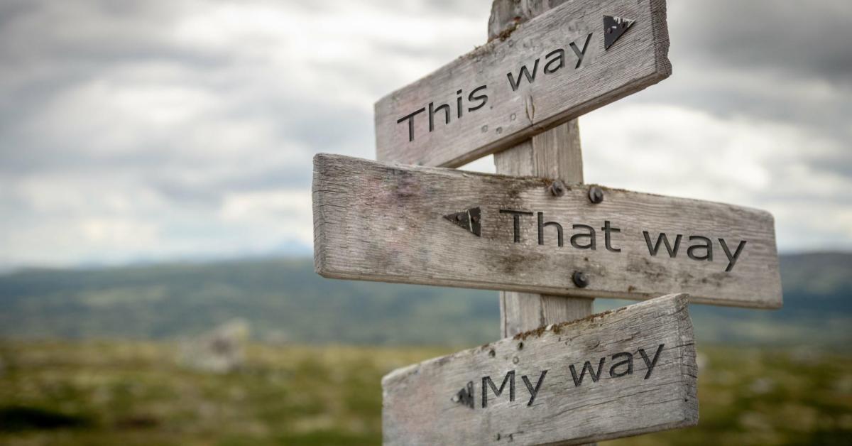 choose path
