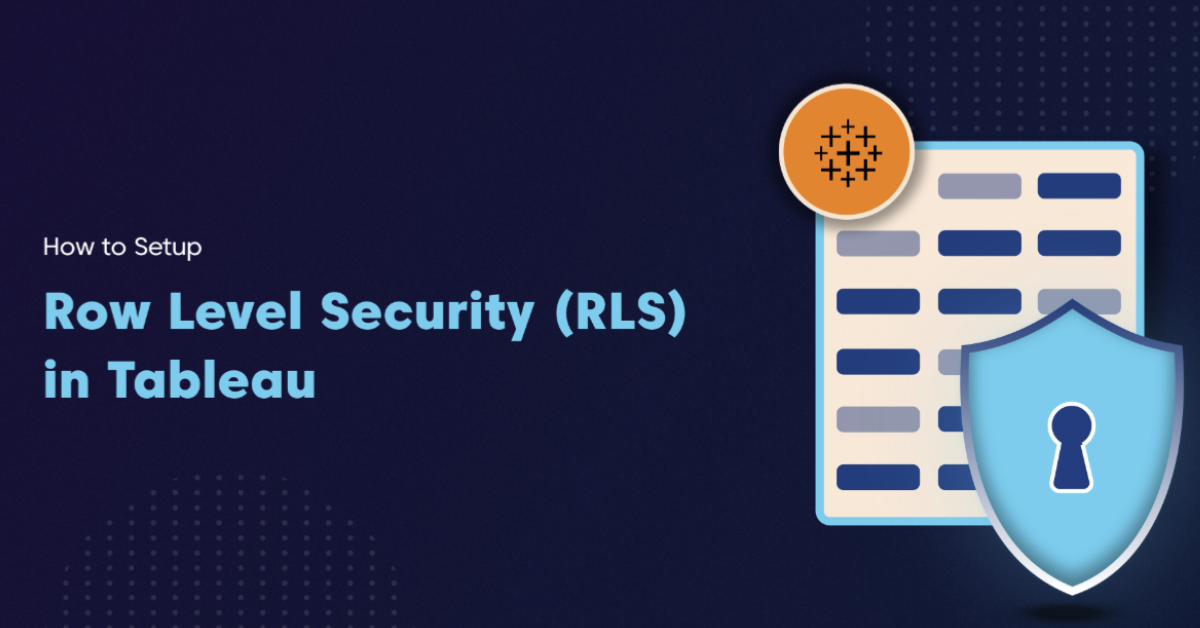 Tableau Row Level Security RLS