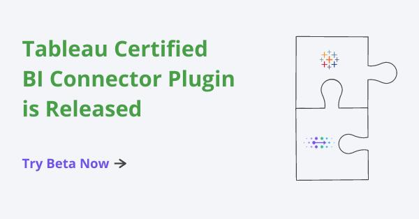 Tableau certified BI Connector plugin for OBIEE, OAC and OAS