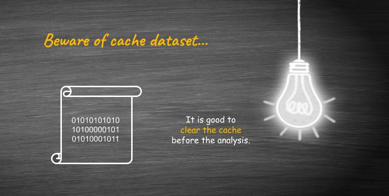 Clear cache Power BI