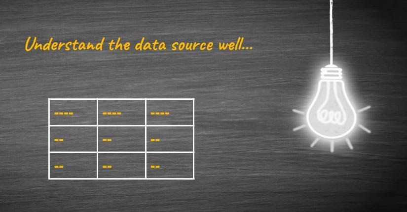 Know the OBIEE data source