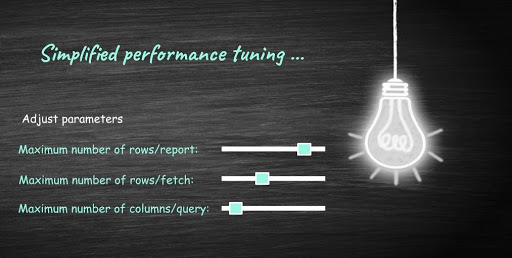 Fine-tune for long-running and large queries